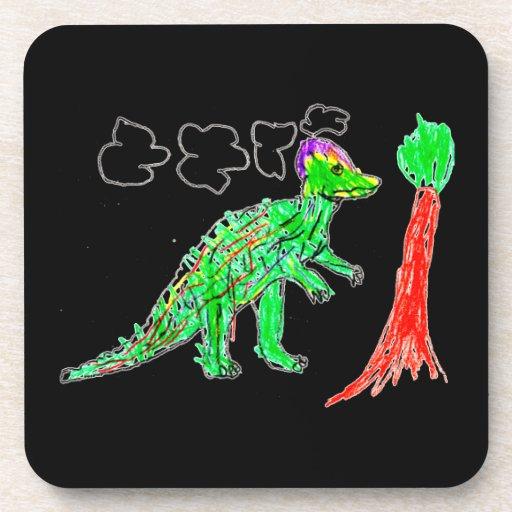 Corythosaurus Drink Coasters