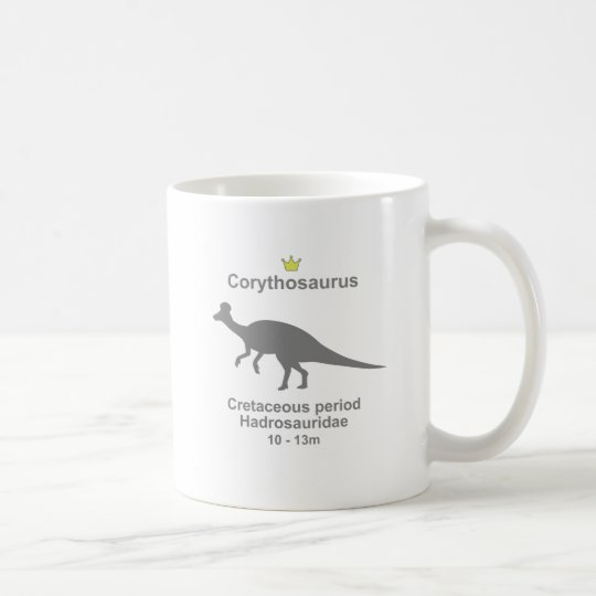 Corythosaurus g5 coffee mug
