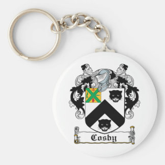 Cosby Family Crest Keychain
