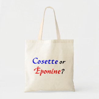 Cosette Les Miserables Tote Bag