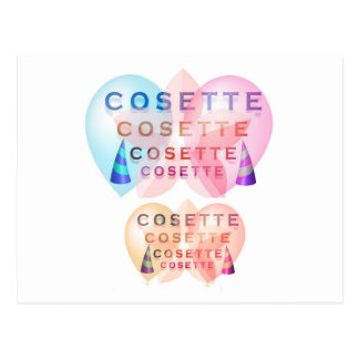 COSETTE , the little one Postcard