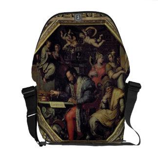 Cosimo I de' Medici (1519-74) planning the conques Commuter Bags