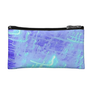 COSMETIC BAG. BOILING BLUE WATER. MAKEUP BAG