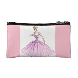 Cosmetic bag. Original artwork. Ballet inspired. Cosmetic Bag