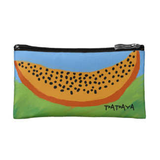 cosmetic bag papaya design