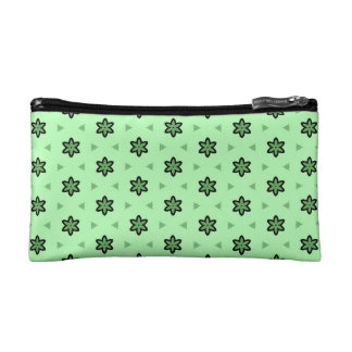 Cosmetic bag Stars light green