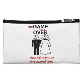 Cosmetic Bag the game is not over