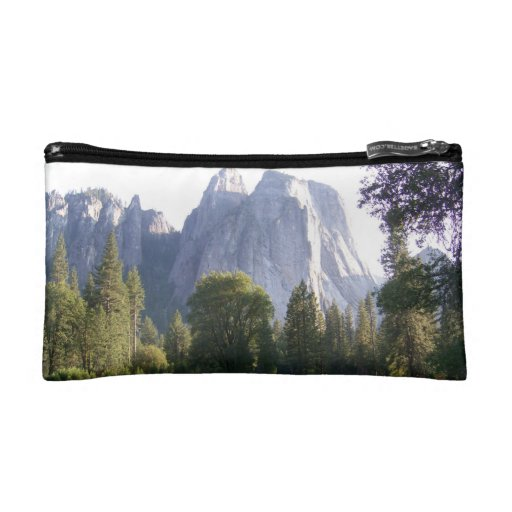 Cosmetic bag with a different pic on each side