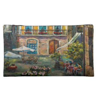 Cosmetic bag with Barсelona`s view