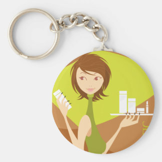 cosmetic key chains