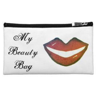 Cosmetic makeup bag. makeup bag