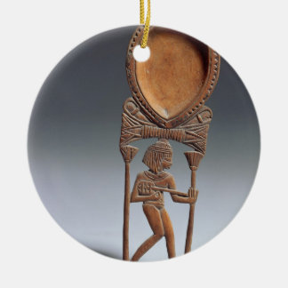 Cosmetic spoon with a figure of a lutenist, New Ki Christmas Ornament