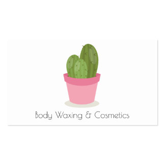 Cosmetics and waxing Beauty Business Card