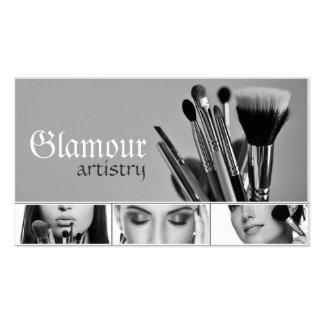Cosmetics Makeup Artist Business Card