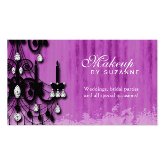 Cosmetologist Business Card Real Estate Makeup