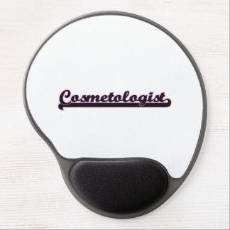 Cosmetologist Classic Job Design Gel Mouse Pad