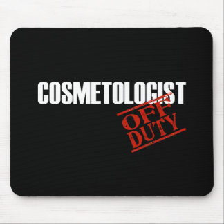 COSMETOLOGIST DARK MOUSE PAD