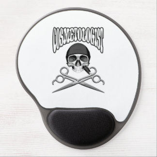 Cosmetologist Skull Gel Mouse Mats