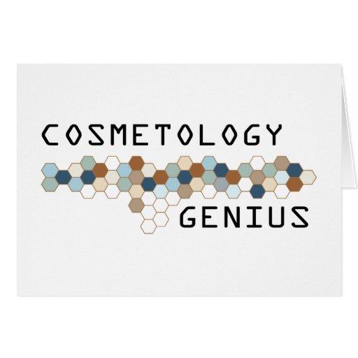 Cosmetology Genius Greeting Cards