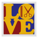 Cosmetology Love Print