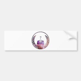 Cosmic Anon Bumper Stickers
