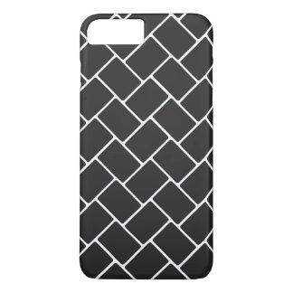 Cosmic Black Basket Weave iPhone 7 Plus Case