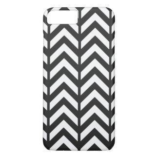 Cosmic Black chevron 3 iPhone 7 Plus Case