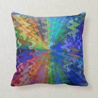 Cosmic Blueray Sparkling Jewels Pillows