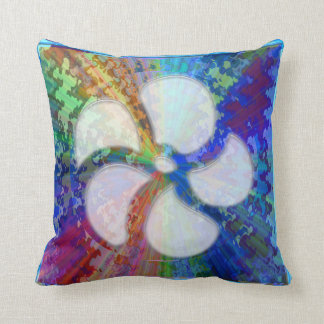 Cosmic Blueray Sparkling Jewels Throw Pillow