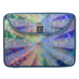 Cosmic Blueray Sparkling Jewels Sleeve For MacBook Pro