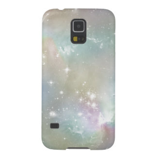 Cosmic Blues Pastel Space Art Galaxy S5 Covers