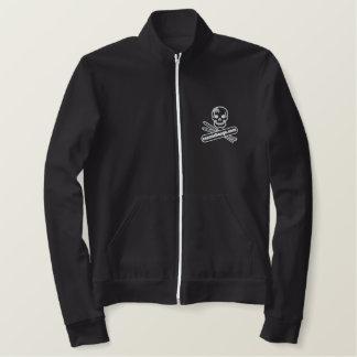 cosmic bongo logo mid layer fleece jacket