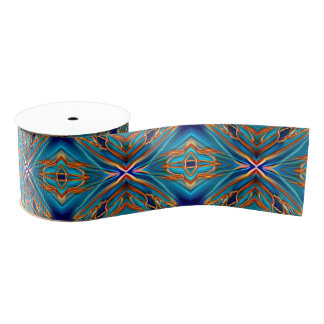 Cosmic Branches Super Nova Grosgrain Ribbon