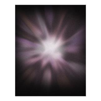 Cosmic Burst Artwork 21.5 Cm X 28 Cm Flyer