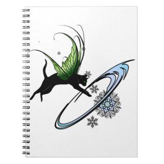 Cosmic Cat Snowflake Notebooks