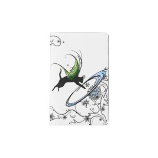Cosmic Cat Snowflake Pocket Moleskine Notebook