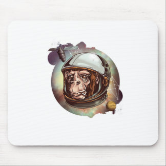 Cosmic Chimp Mouse Pads