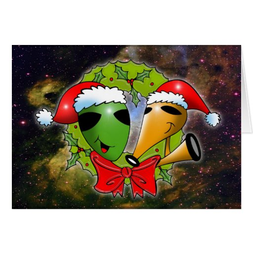 Cosmic Christmas by Gregory Gallo Card