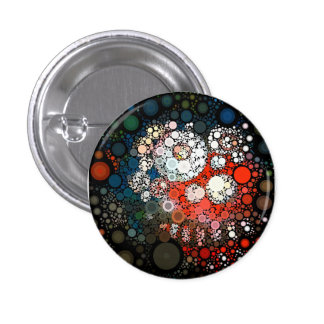 Cosmic Clown 3 Cm Round Badge