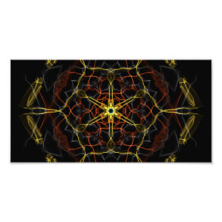 Cosmic Core Kaleidoscope Photo
