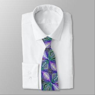 Cosmic Crystal Flower Tie