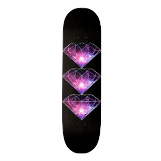 Cosmic diamond skate board deck