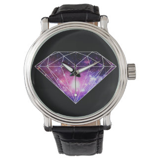 Cosmic diamond watch