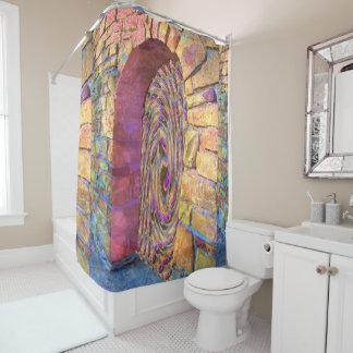 Cosmic Doorway Shower Curtain