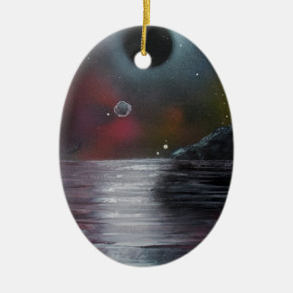 Cosmic Eclipse Christmas Ornament