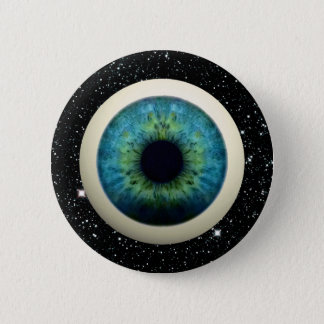 COSMIC EYE (A great novelty item!) ~ 6 Cm Round Badge