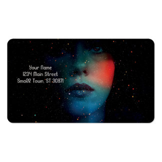 Cosmic Face in the Infinite Universe Pack Of Standard Business Cards