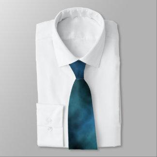 Cosmic Faux Blue Marble Tie