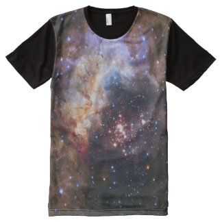 Cosmic Fireworks in Space All over print Shirt All-Over Print T-Shirt