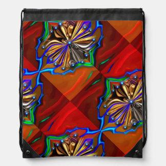 Cosmic Flower Backpack Bag